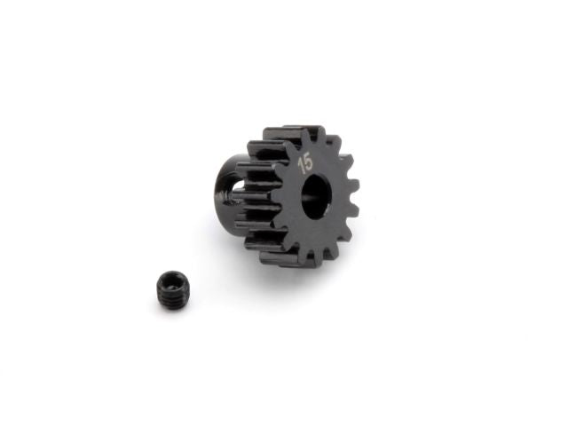 HPI Pinion Gear, 15 Tooth (1M/5mm Shaft) HPI100914