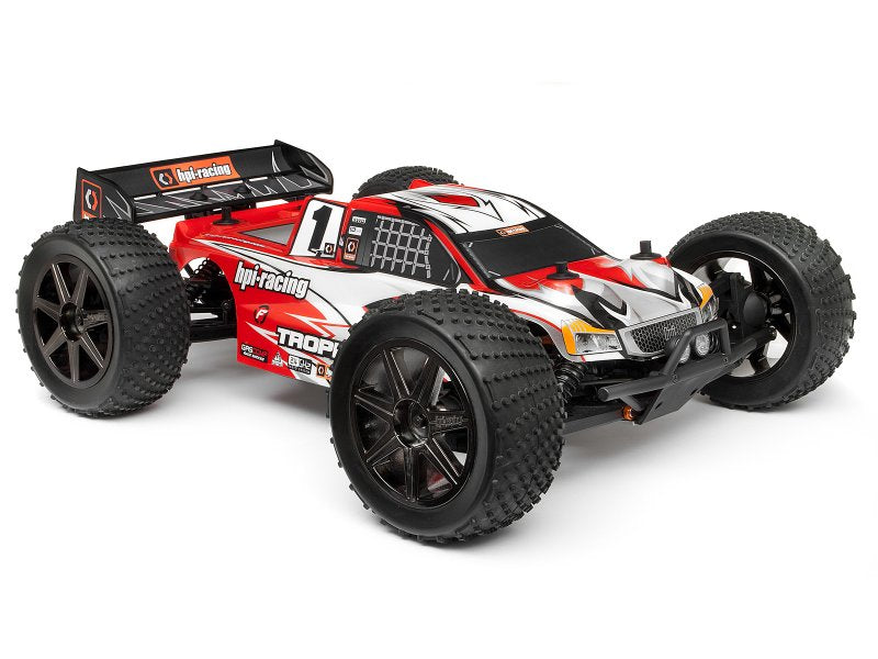 HPI Clear Trophy Truggy Flux Bodyshell w/Window Masks and Decals HPI101717
