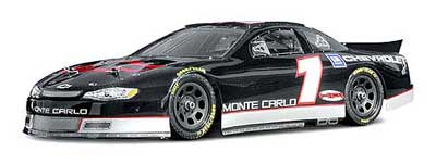 HPI Chevrolet Monte Carlo Body, Clear, 200mm HPI7430