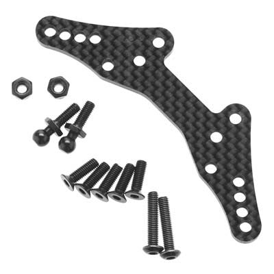 Hpi Shock Tower Rear Carbon Fiber Sport 3 HPI114434