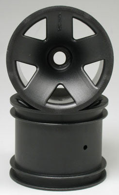 Hpi Type F5 Truck Wheel Front Black (2) HPI3041