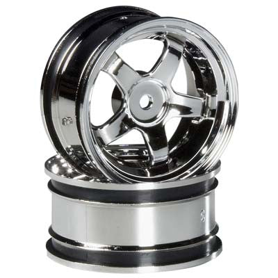 HPI Work Meister S1 Wheel, 26mm, Chrome, 3mm Offset HPI3591