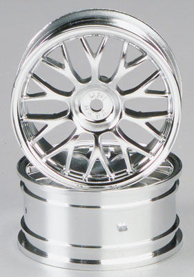 HPI 26mm Mesh Wheel Chrome HPI3712
