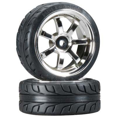 HPI Mounted T-Grip Tire 26mm HPI4738
