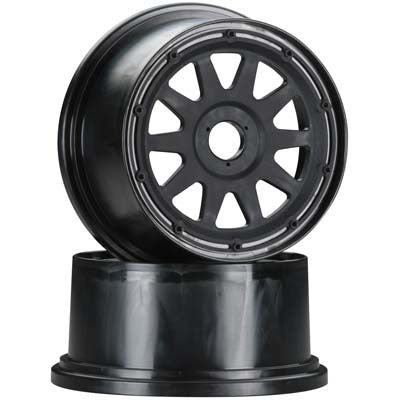 HPI 104971 Tr-10 Rear  Wheel Blck Offst HPI104971