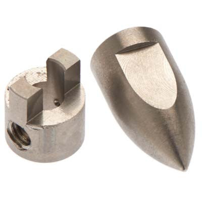 Hot Racing Conical Bullet M4 Prop Nut/Drive Dog Spartan HRASPN05PN