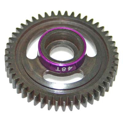 Hot Racing Purple 48T Steel Spur Gear 1/16 HRASVXS848