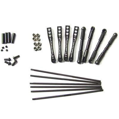Hot Racing Full Set Sway Bar Kit Wraith Rock Racer HRAWRA311X01