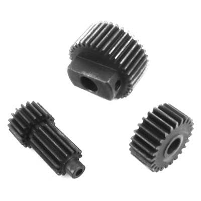 Hot Racing SVXS1000T Hardened Steel Center Gear Set 1/16 HRASVXS1000T