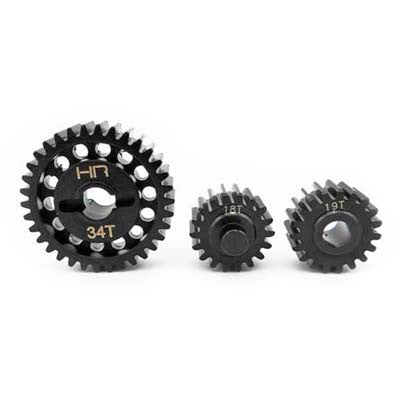 Hot Racing Steel Center Gear Set Yeti XL HRAYEX1000T