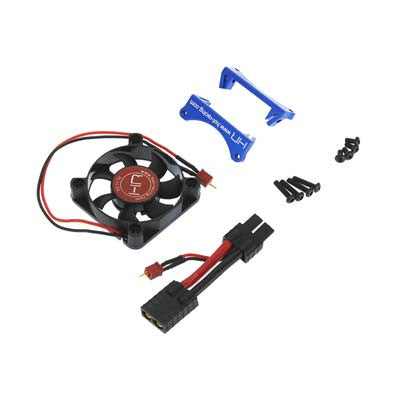 Hot Racing Monster Blower Fan Blue X-Maxx HRAXMX505F06