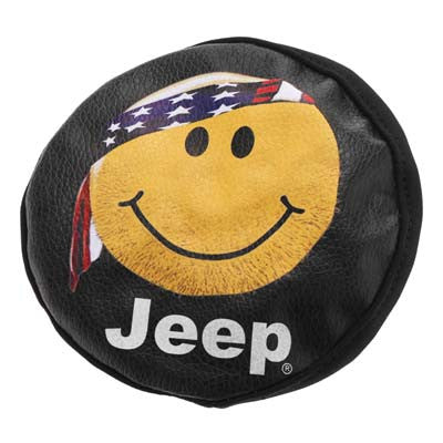 Hot Racing 1/10 Happy Face Spare Tire Cover SCX10 HRASCX36117H
