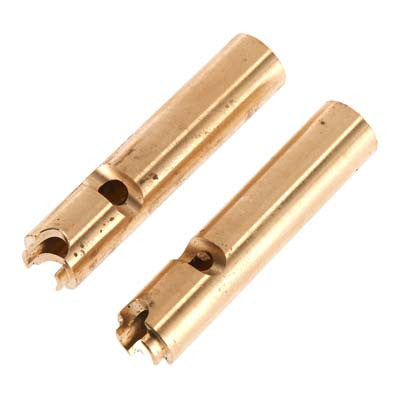 Hot Racing Brass Axle Tube Weights (2) AX10/SCX10 HRASCX12AW