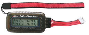 Hitec Lipo Checker & Balancer RCD44173