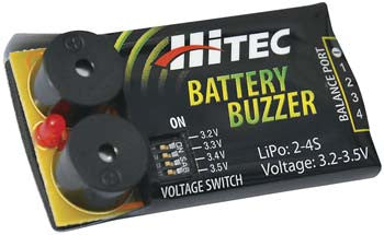 Hitec Battery Buzzer Low Voltage Battery Alarm HRC44210