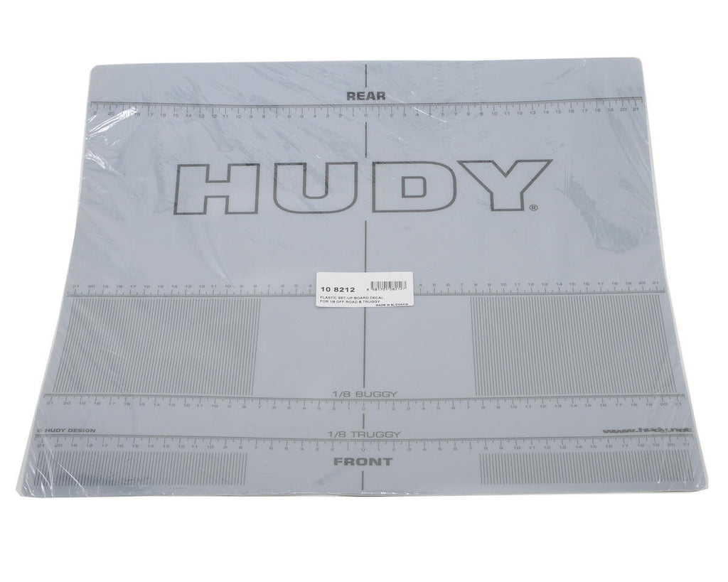 Hudy Plastic Set Up Decal 1/8 Off HUD108212