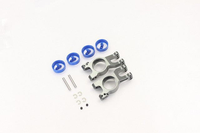 Kyosho Aluminum Rear Hub Carrier Gunmetal KYOIGW002GM