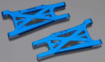 Integy Suspension Arm 1/10 Slash 4x4 (2) INTT8541BLUE