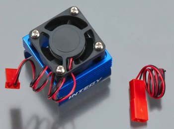 Integy Spr Brushless Motor Heatsink INTC23141BLUE