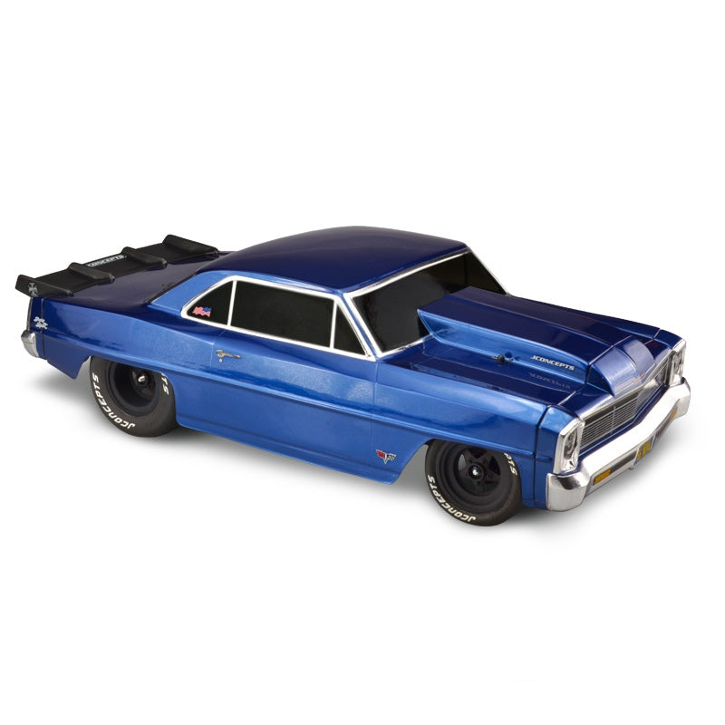 JConcepts 1966 Chevy II Nova Clear Body JCO0343