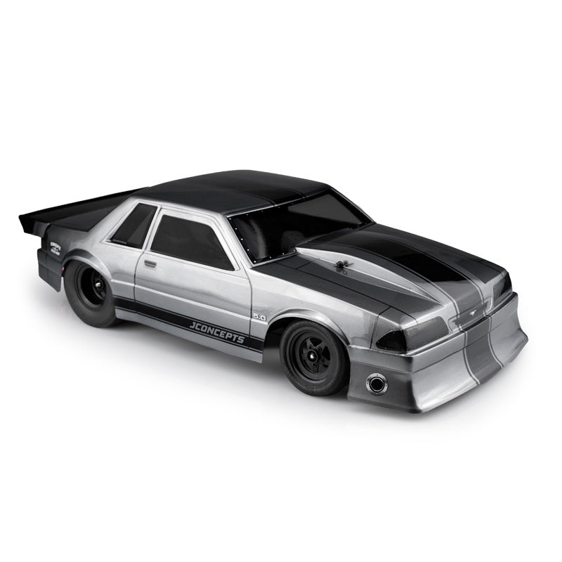 JConcepts 1991 Ford Mustang Fox Clear Body for Short Course Trucks JCO0362