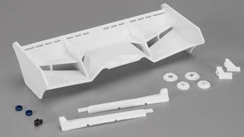 Jconcepts Finnisher 1/8 Buggy Wing White JCO0128W