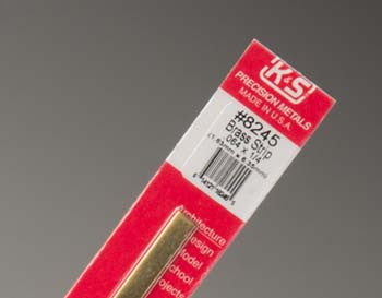 "K+S Brass Strip .064x1/4"" K+S8245"