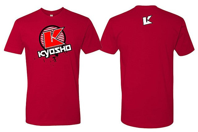 Kyosho 2XL Red K Circle Short Sleeve KYOKA10007S2X
