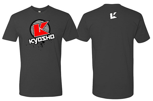 Kyosho XL Grey K Circle Short Sleeve KYOKA10007SXG