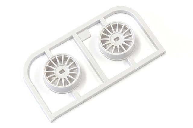 Kyosho Multi Wheel N/Offset 0 (White/AWD/2pcs.) KYOMDH100W-N0