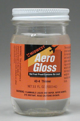 Midwest Aerogloss Thinner 3.5 Oz MID43-4