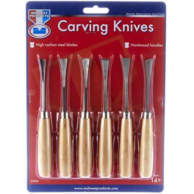 Midwest Carving Knives (6pcs) MID3802