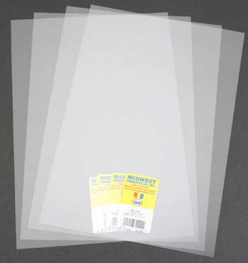 Midwest Clear Sheet Pvc .005 MID702-01