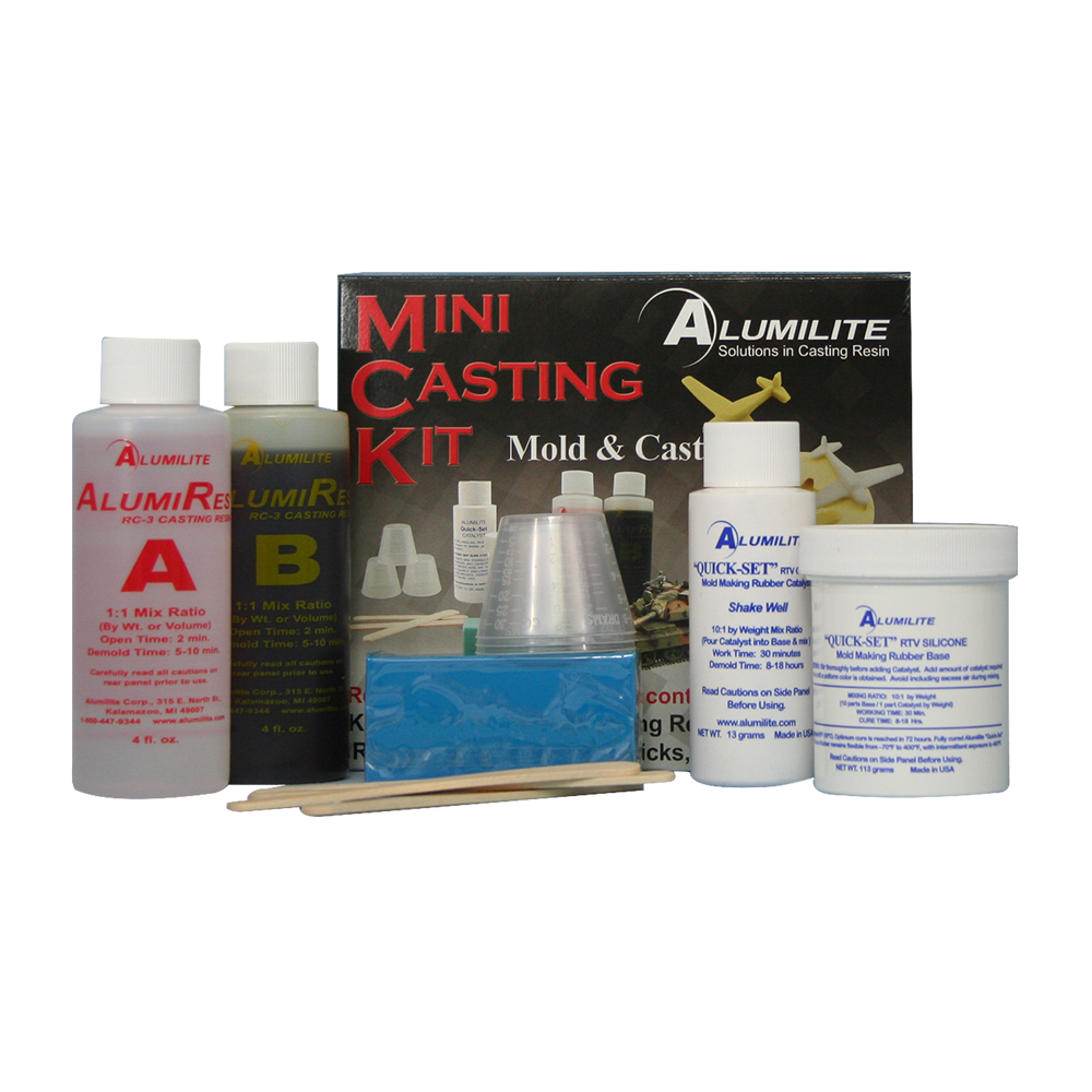 Alumilite Mini Casting kit. ALU10560