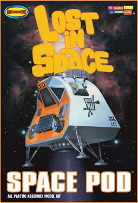 Moebius Models 1/24 Lost in Space-Space Pod MOE901