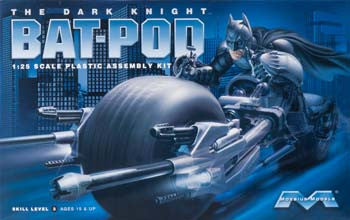 Moebius Models 1/25 Dark Knight Pod MOE920