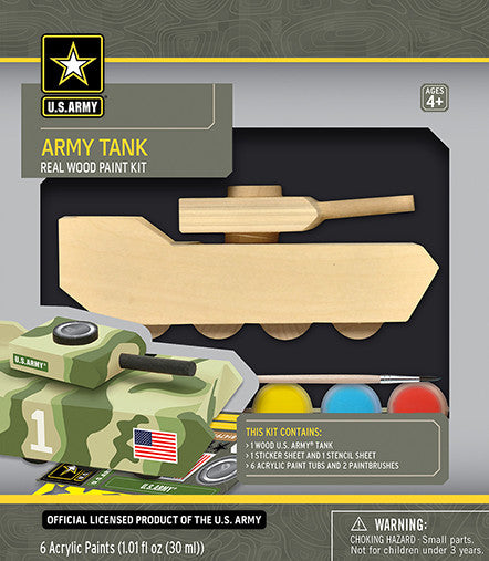 Masterpieces Army Tank Wood Kit MST21524