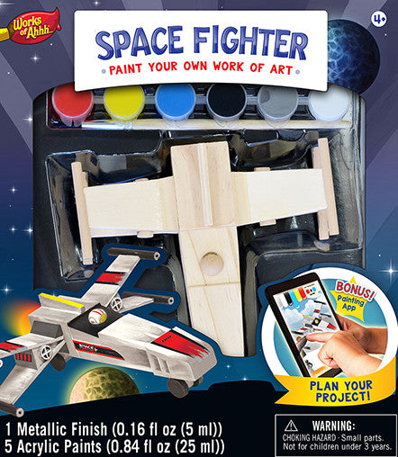 Masterpieces Space Fighter Wood Kit MST21640