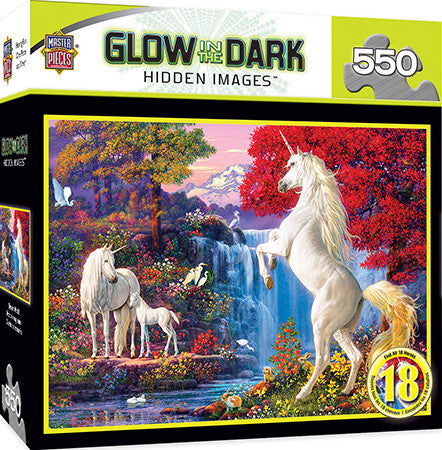 Masterpieces Dream World 550 Pieces Glow Puzzle MST31688