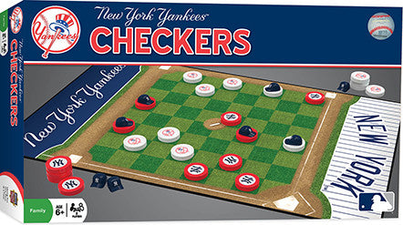 Masterpieces New York Yankees Checkers MST41467