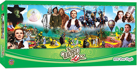 Masterpieces Wizard of OZ 1000 Piece Panoramic Puzzle MST71745