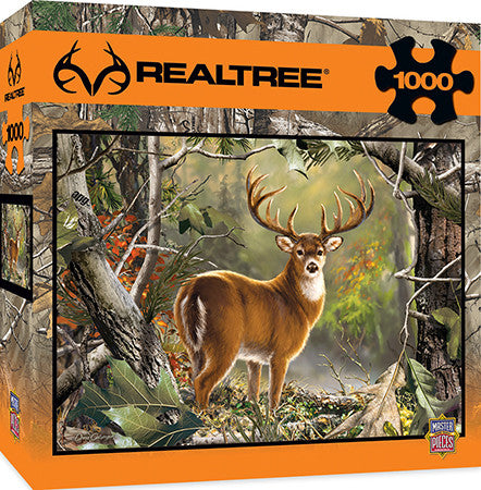 Masterpieces Backcountry Buck 1000 Piece Puzzle MST71751