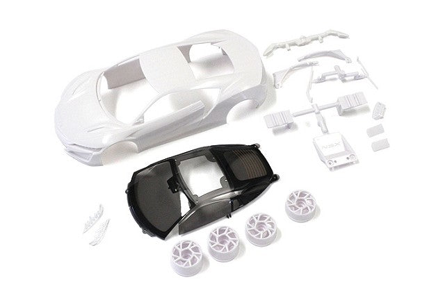 Kyosho Honda NSX White Body Set (w/Wheels) KYOMZN186