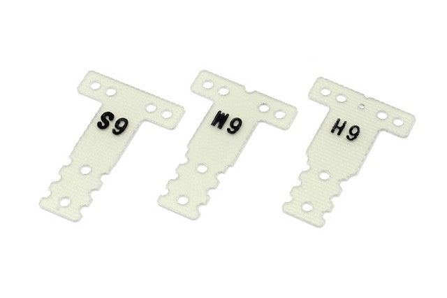 Kyosho FRP Rear Suspension Plate Set (0.6/MR03RM/HM) KYOMZW438