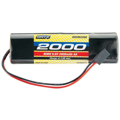 Onyx NiMH 9.6V 2000mAh AA Transmitter Rectangle Universal ONXM2213
