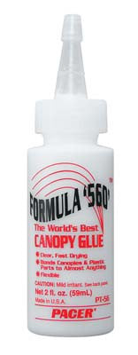 Pacer Technology's Ric 560 Canopy Glue 2 Oz PAAPT56