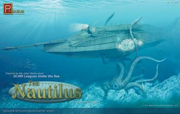 PEGASUS MODELS 9120 1/144 The Nautilus Submarine PGH9120