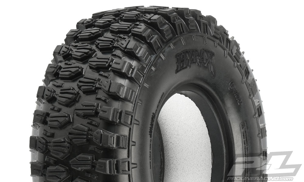 "Pro-Line Class 1 Hyrax 1.9"" (4.19"" OD) G8 Rock Terrain Truck Tires (2) for Front or Rear PRO10142-14"