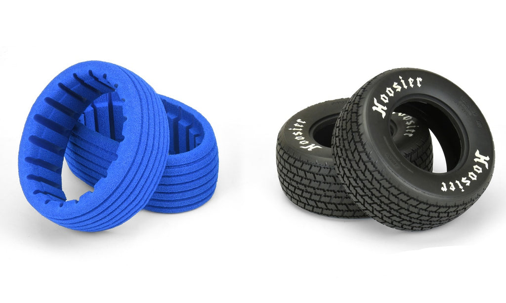 "Pro-Line Hoosier G60 SC 2.2""/3.0"" M3 (Soft) Dirt Oval SC Mod Tires, for SC Trucks Front or Rear (2pcs) PRO10153-02"