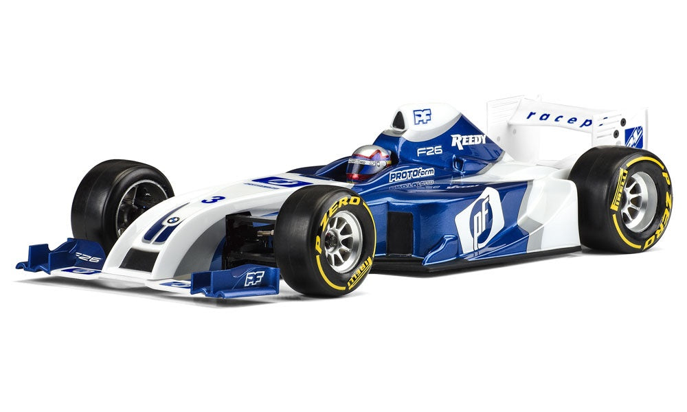 Protoform F26 Clear Body for 1/10 Formula 1 PRM1561-22